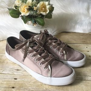 Mossimo Satin Fashion Sneakers Size 9